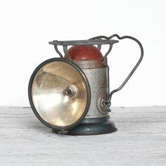 old railroad lantern