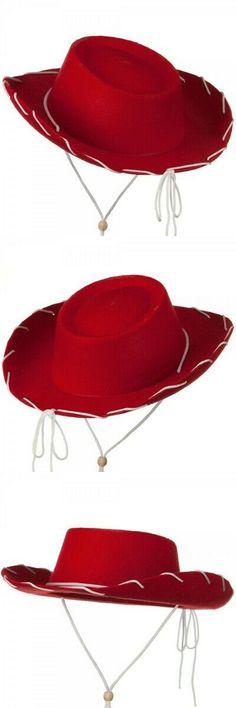 1c4b8f1c9817fd Hats and Headgear 155349: Red Felt Cowboy Child Hat Toy Story Jessie  Cowgirl Costume Movie