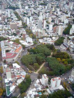 Plaza Rocha, La Plata, Argentina.