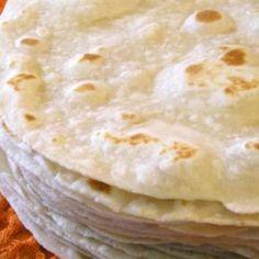 Tortillas de Harina hechas en casa