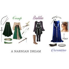 Camp, Battle, Coronation: A Narnian Dream, created by weasley52 on Polyvore