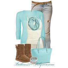 """Comfy Casual Day"" by latkins77 on Polyvore"
