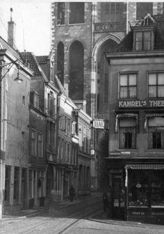 Gezicht in de Servetstraat te Utrecht; uit het westen. 1933
