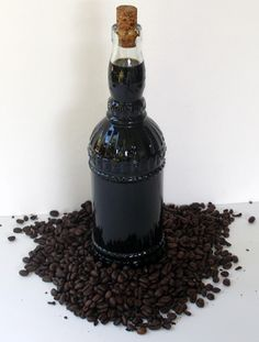 Good Cocktails - Homemade Coffee Liqueur Recipe. I think I already pinned a coffee liqueur recipe at some point, but this one is a bit more informative.