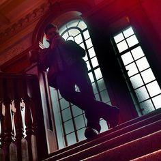 Cool shot of Dean Winchester (Jensen Ackles) on Supernatural.