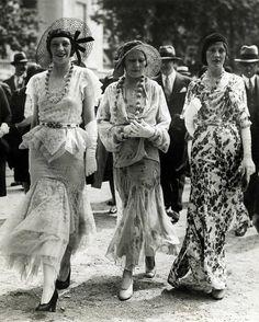 1930s Paris fashion