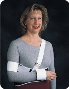 Comfor Shoulder Immobilizer - Universal, Child by B&C. $42.00. Please see alternate images above for SIZING and additional description information. --Comfor Shoulder Immobilizer - UniversalOur most popular shoulder immobilizerForearm cuff, humeral cuff and shoulder strap may be placed in desired positionWeb shoulder strap with buckle adjustmentMale straight or female contouredFoam laminate construction with hook and loop closureLatex FreeReorder No. Rib Circumference...