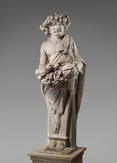 Pietro Bernini (Italian, 1562–1629). Autumn in the Guise of Priapus (one of a pair), 1616–17. The Metropolitan Museum of Art, New York. Purchase, The Annenberg Foundation Gift, 1990 (1990.53.2)