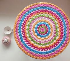 Ak at home : crochet * doily patroon Nederlands