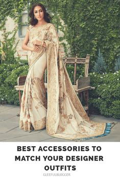 24cdc833e5f Best Fashion Accessories to Match up with Designer Lehenga or Saree