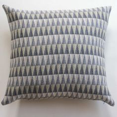 """Merino lambswool pillow - """"Prism Grey""""-contemporary design !00% lambswool scatter cushion .50cm x 50cm"""