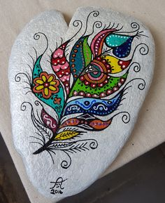 35 Smart Painted Rock Ideas - Garden Diy - 35 Smart Painted Rock Ideas – Garden Diy 35 Smart Painted Rock Ideas Steinkunst bemalte Steine DIY Acryl Rock painting Hobby Malerei Feder The post 35 Smart Painted Rock Ideas appeared first on Garden Diy. Feather Painting, Pebble Painting, Dot Painting, Pebble Art, Stone Painting, Painting Flowers, Painting Tools, Painting Videos, Pebble Stone