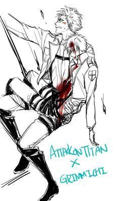 Attack On The Titans X GrimmIchi