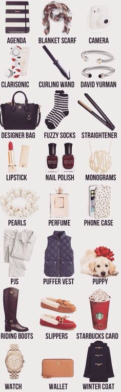 Fabulous List Of Suggestions Stumped On What To Ask For This Christmas Has Everything All Your Basic White Girl Needs