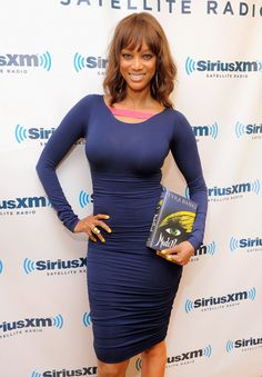 Stunning Hollywood Tyra Banks ...Attractive Hairstyles... She starred as Miss Burke in Shake It Up (2012)