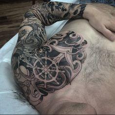 mens breast arm ship