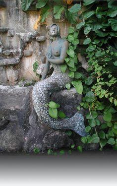 Mermaid Sirena statue, Legends of Guam USA