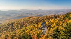 #RVing  Your Daily Destination!  Blue Ridge Parkway, Appalachian Mountains