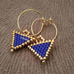 Bead Jewellery, Seed Bead Jewelry, Seed Bead Earrings, Diy Earrings, Beaded Jewelry, Beaded Bracelets, Brick Stitch Earrings, Beaded Earrings Patterns, Craft Accessories