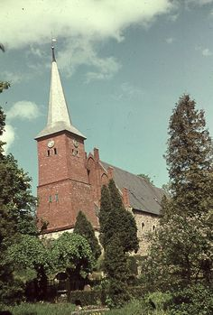 Juditter Kirche – Ansicht von Südwest Königsberg - 1288-1298 / 1276-1294