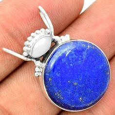 Lapis 925 Sterling Silver Pendant Jewelry SP194366 | eBay