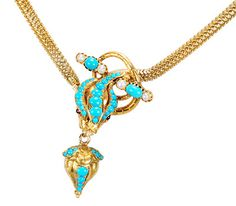 At Its Best: Victorian Snake Necklace - The Three Graces