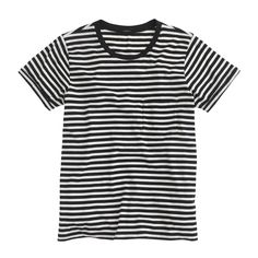 J.Crew striped tee {May 2015}