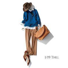 襟は元気のバロメーター!体調が優れない日もシャツ襟正して気合注入Marisol ONLINE|女っぷり上々!40代をもっとキレイに。