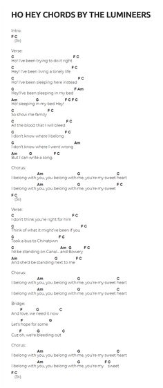 73 best GUITAR CHORDS & SONGS images on Pinterest | Guitar chords ...
