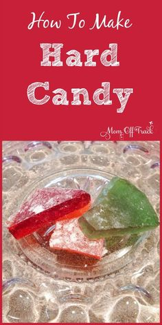 Learning how to make hard candy is really easy. Great recipe and tutorial Don't be afraid to learn how to make hard candy. This recipe and tutorial is quick and easy and will make you into a hard candy pro in no time. Christmas Rock Candy Recipe, Holiday Candy, Christmas Treats, Christmas Baking, Hard Christmas Candy, Christmas Goodies, Christmas Dishes, Christmas Games, Holiday Foods