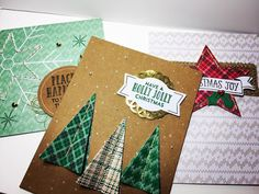 Stitched with Cheer Project Kit Class - make 18 cards!