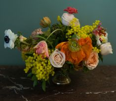 Bouquet by student at the Berlin Flower School