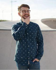 Camisas estampadas para hombre - Brava Fabrics