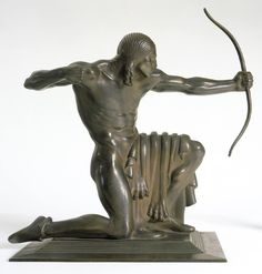 paul manship sculpture | Paul Manship! Indian 1914 sculpture