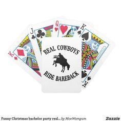 Funny Christmas bachelor party real cowboys