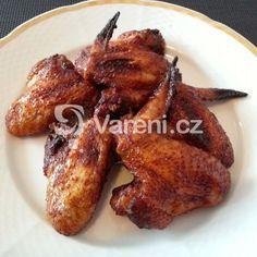 Fotografie receptu: Pikantní medová kuřecí křídla