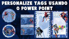 Personalize seus próprios rótulos e tags usando o Power Point e word