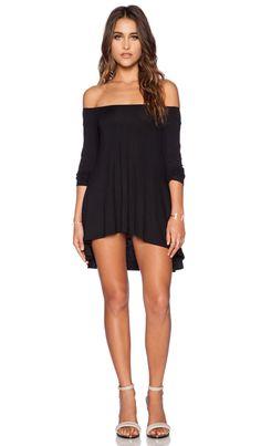 Lisakai Swing Dress in Black | REVOLVE