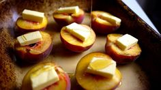 Honey Roast Peaches – The Londoner