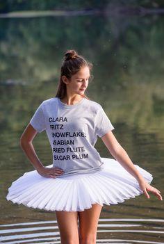 Nutcracker Ballet Tee T-Shirt Gift by Laurelette on Etsy