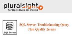 Pluralsight - SQL Server: Troubleshooting Query Plan Quality Issues  tutdownload.com/all-tutorials/database/sql-server/pluralsight-sql-server-troubleshooting-query-plan-quality-issues/