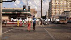 Anuncio del nuevo efecto Iluminación de Retrato en el iPhone 8 Plus
