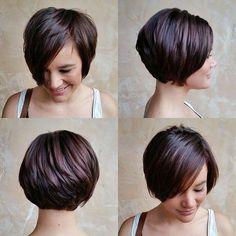 short layered hairstyle