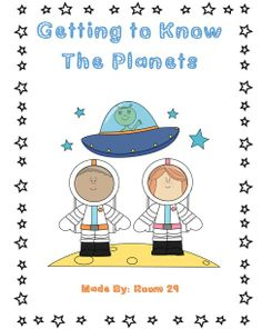 *FREE* Students will get to know the characteristics and placement of the planets through hands on activities.