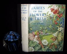 1950 Rare Book Cicely Mary Barker - FAIRIES OF THE FLOWERS AND TREES 1st Edition | eBay