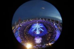 The London 2012 Closing Ceremony at the Olympic Stadium August 12, 2012.