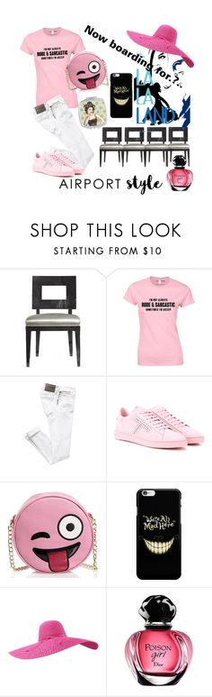 """""""La La Land now boarding!"""" by callmerose ❤ liked on Polyvore featuring Tod's and Olivia Miller"""