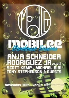 Mobilee Warehouse Sessions feat. Anja Schneider | The Sidings Warehouse | London | https://beatguide.me/london/event/the-sidings-warehouse-solidgrooves-mobilee-warehouse-sessions-anja-schneider-rodriguez-jr-tbguests-20131130/poster/