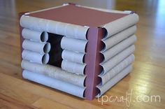 Toilet Paper roll craft blog -- All sorts of toilet paper roll things...not just for kids
