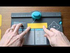 Envelope Punch Board Paper Bows - YouTube #wermemorykeepers #tools #videotutorial #craftingtools #envelopepunchboard #bows #punchboards
